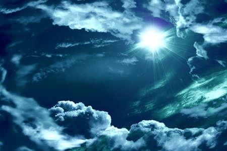 The divine sky