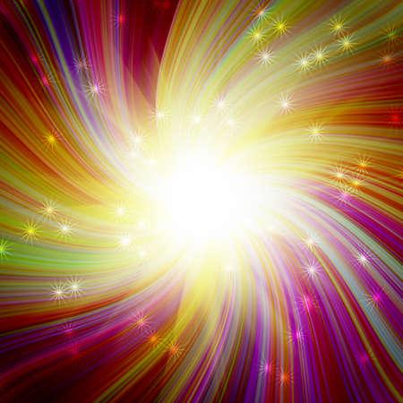 bursts: incandescente scoppio magico colorato
