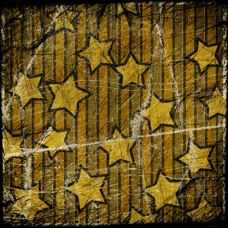 grunge colorful starry background with place for text photo