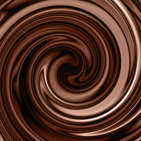 melting chocolate: chocolate swirl background
