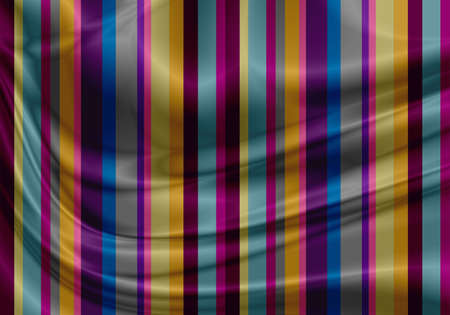 colorful fabric with folds Stock Photo - 13504302