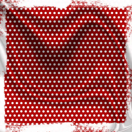 grunge background with dots and folds photo