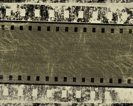 grunge film stripe with place for text Stock Photo - 13504451