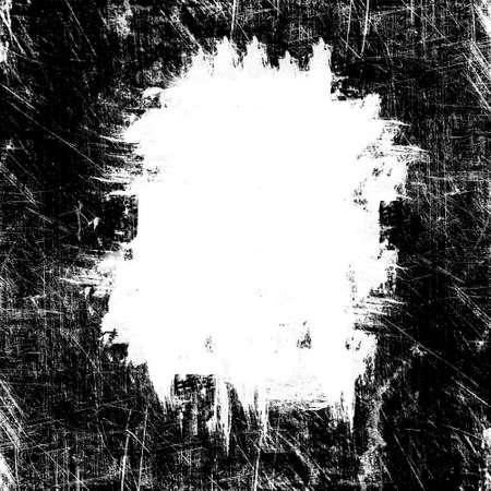 pix: grunge white spot on black