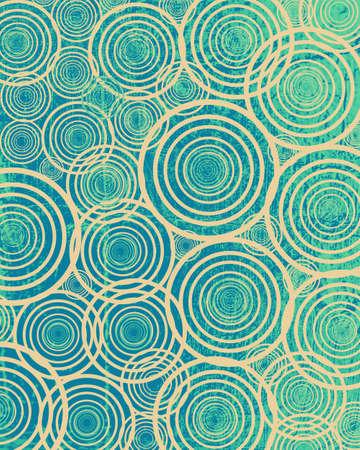 illustration of grunge circles Stock Illustration - 13504433