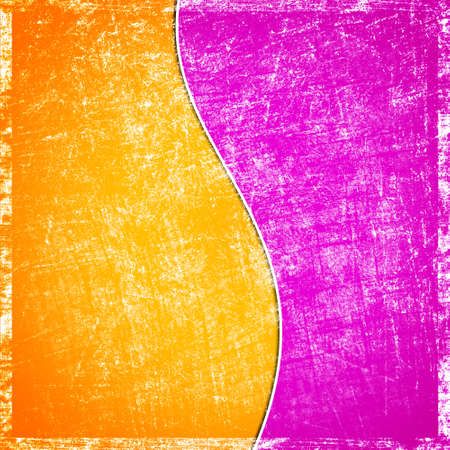 dos colores de fondo grunge Foto de archivo