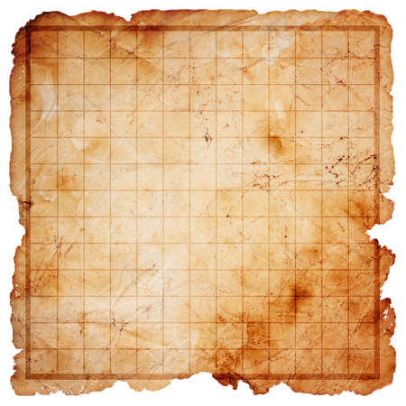 en blanco pirata mapa del tesoro