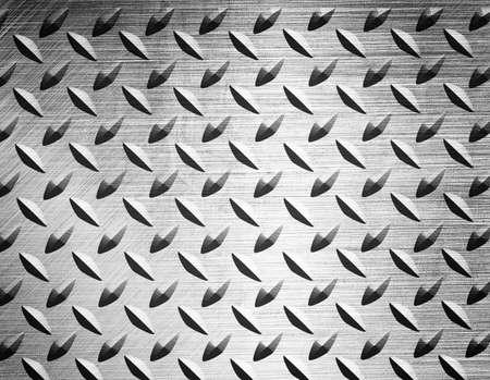 diamont plate metal background Stock Photo - 13755969