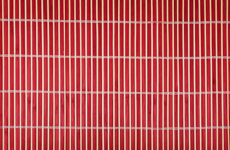 texture of red bamboo mat Stock Photo - 14041233