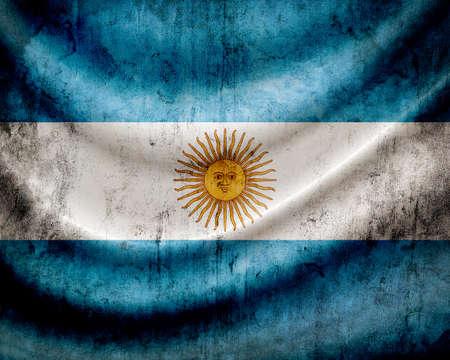 bandera argentina: Grunge bandera Argentina