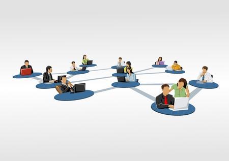 persone collegate Social network
