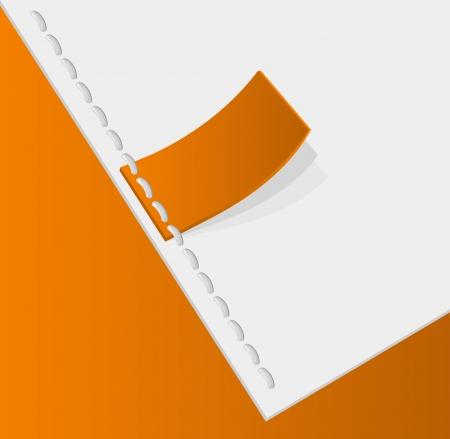 sewed: Orange tag stitched  Label sewed  Illustration