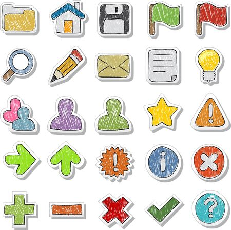 Set of Internet and Website icons Stock Vector - 18452672