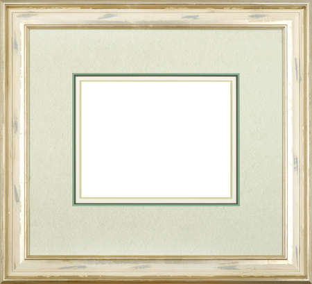 Silver art picture frame photo