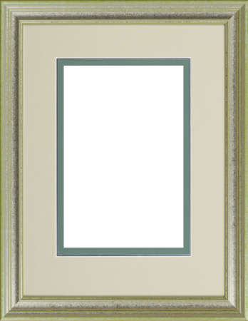 Greeen art picture frame Stock Photo - 12603752