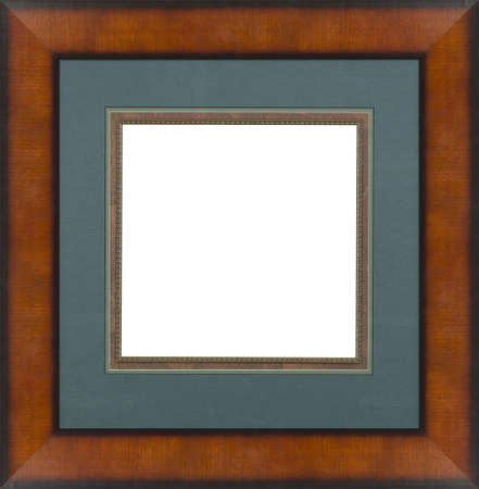 Brown art picture frame photo