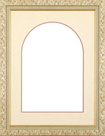 baroque picture frame: art picture frame