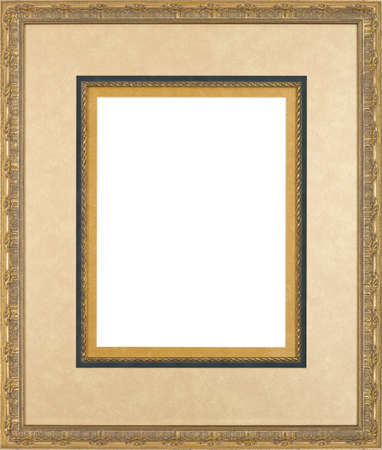 Gold art picture frame
