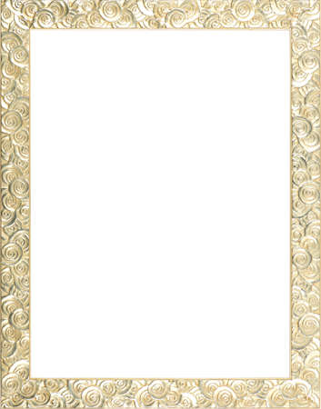 rectangle frame: silver art picture frame