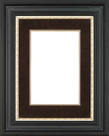black and white photograph: black art picture frame