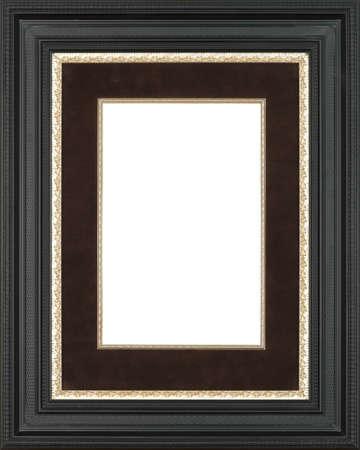 black art picture frame Stock Photo - 12603853