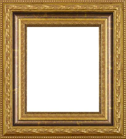 marco madera: El arte de Oro marco de la imagen