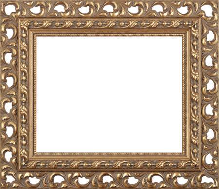 gilt: Gold art picture frame
