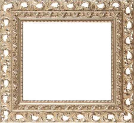 gild: silver art picture frame