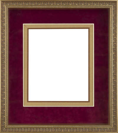antique frame: art picture frame