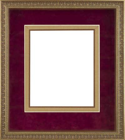 Baroque picture frame: cadre photo d'art