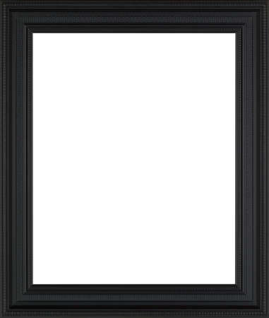 black picture frame: black art picture frame