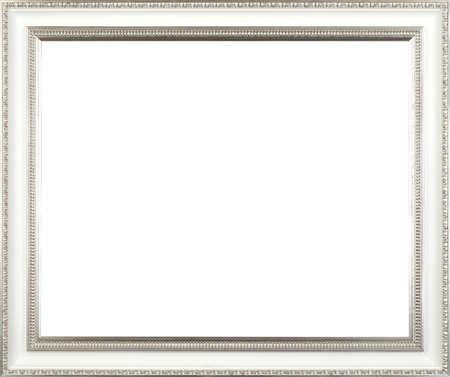 Baroque picture frame: cadre argent� art picture