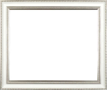 silver art picture frame Stock Photo - 16313364