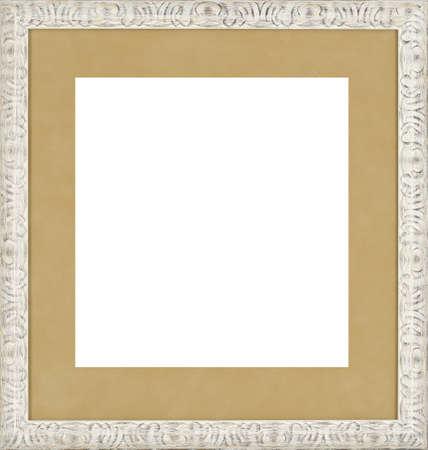 white art picture frame photo