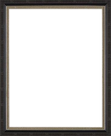 art exhibition: black art picture frame