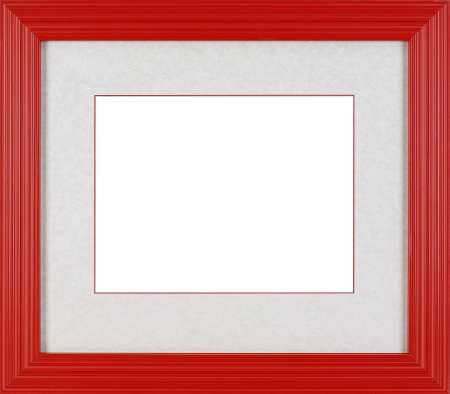 rad: art picture frame rad  isolated on white background Stock Photo