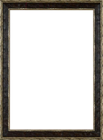 Picture frame isolated on white background Stock Photo