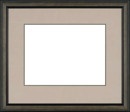 Picture frame isolated on white background 版權商用圖片