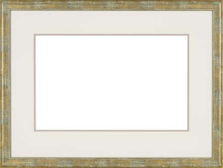 Picture frame isolated on white background Фото со стока