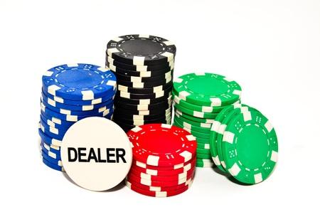 jetons poker: jetons de poker Banque d'images