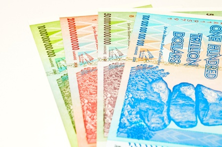 zimbabwe dollars Stock Photo - 12514492