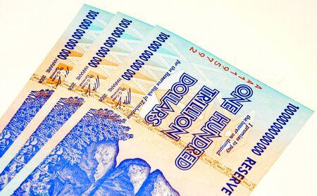 zimbabwe: zimbabwe dollars Stock Photo