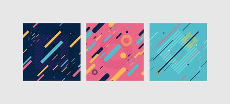 Colorfull modern templates for your design vector illustration. Çizim