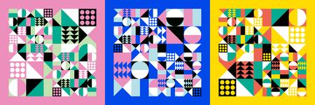 カラフル デザインのモダンなテンプレート ベクトル イラストです。