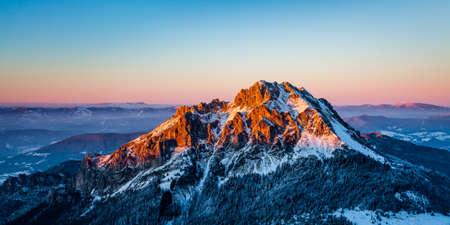 mala fatra: Velky Rozsutec, dominant peak in Mala Fatra region