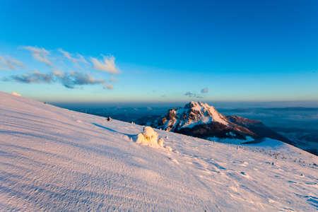 mala fatra: Velky Rozsutec, Mountain landscape, Mala Fatra, Slovakia Stock Photo