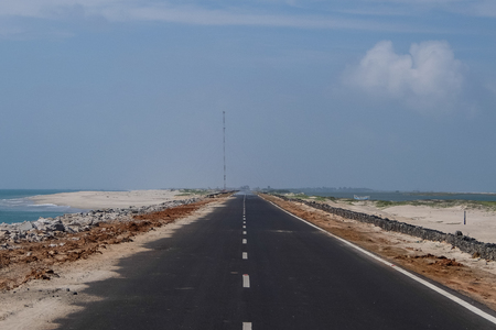 Road to the end of the world, Rameshwaram, India
