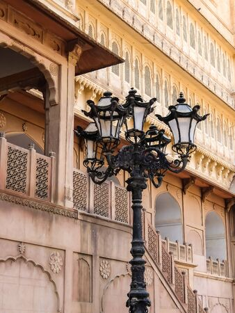 Beautiful architecture of Junagarh fort.