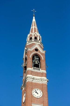 Architecture of catholic church (Parrocchia dei Ss. Pietro e Paolo Apostoli di Verolavecchia).