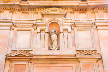 Parma, Italy - Circa September 2018. Beautiful architecture of catholic church (Chiesa di San Giovanni Evangelista).